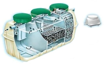 CE5 (KIT) FUJI CLEAN 3 BEDROOM SEPTIC SYSTEM
