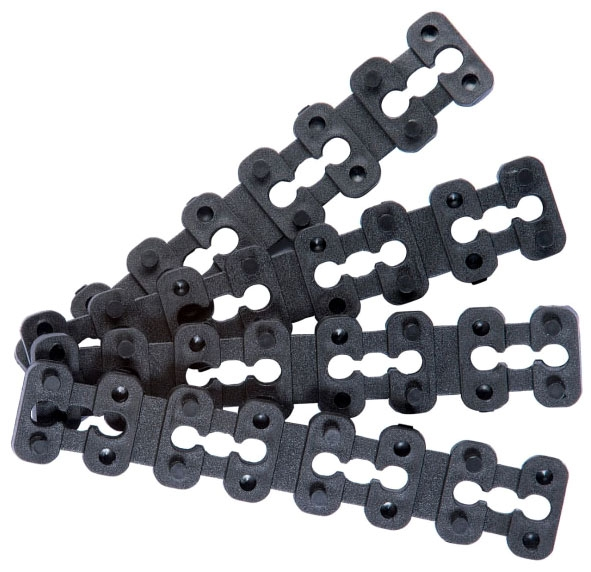 IDEAL 172451L SPACER/SHIMS 25 PIECES PER PACK, Helps support loose outlets and protect faceplates from breaking