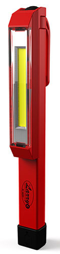 6350 NEBO LARRY RED 8 LED WORK LIGHT W/ 3 AAA BATTERIES