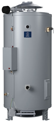 SBD-85-365NE-A 85 GAL NAT GAS 365,000 BTU ASME SANDBLASTER COMM WTR HTR STATE