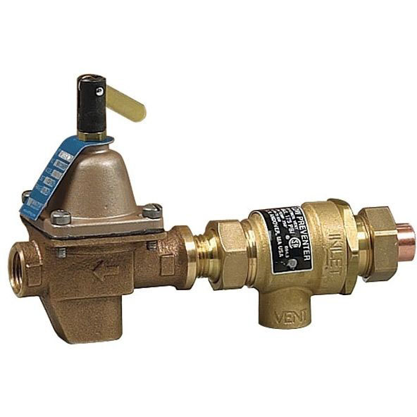 "B911TM3PRESS Watts 1/2"" ProPress Union Brass Combination Fill Valve & Backflow preventer 100 PSI"