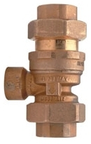 "12-760 WILKINS 1/2"" NOM DUAL CHECK BACKFLOW PREVENTER VALVE W/ ATMOSPHERIC VENT"