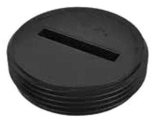 "3"" MPT PVC Countersunk Plug"