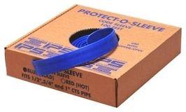 6 Mil Blue Polyethylene Water-Tite Pipe Sleeving