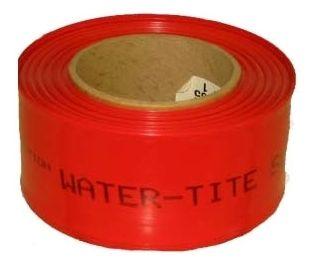 6 Mil Red Polyethylene Water-Tite Pipe Sleeving