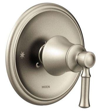 Brushed Nickel Shower Faucet Valve Trim