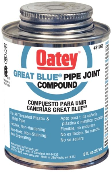8 Fl Oz Blue Non-Toxic Pipe Joint Compound