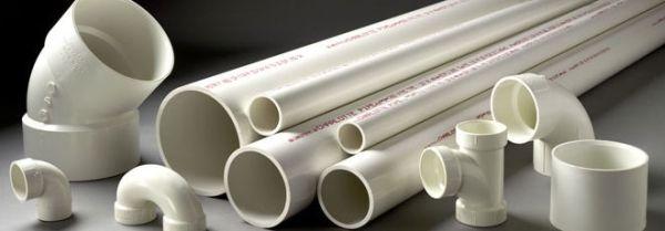"6"" x 10' Plain x Plain PVC-DWV 40S White Pipe"