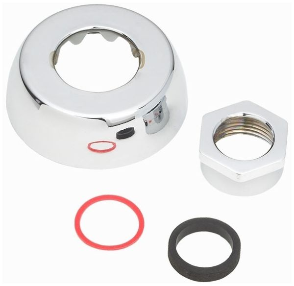 """3/4"""" Chrome Plated Spud Coupling Assembly"""