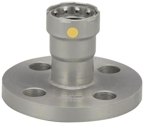 "1"" Press x Press Zinc Nickel Coated Carbon Steel 5 to 40S Adapter Flange"