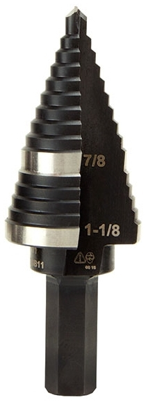 KLN KTSB11 KLN STEP DRILL BIT #11 -DOUBLE-FLUTED