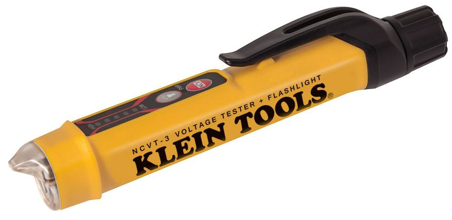 KLN NCVT-3 KLN NON-CONTACT VOLTAGE TESTER 12-1000V W/FLASHLIGHT W/BATTERIES