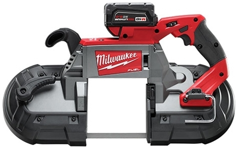 """MIL 2729-21 M18 FUEL DEEP CUT BAND SAW (1) BATTERY KIT - GET (1) FREE M18 FUEL 1/2"""" HAMMER DRILL DRIVER BARE (2804-20)"""