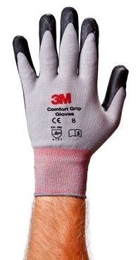 3M CGL-GU LARGE GENERAL USE COMFORT FIT GLOVES NITRILE PALM COATING