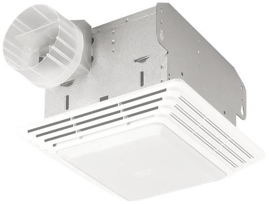 BROAN 678 Fan/Light,Broan,50 CFM,10 TQ04002