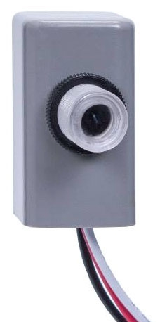 INT EK4036S LED RATED BUTTON STYLE PHOTO CONTROL 105-305V MULTI-VOLT 1000W TUNGSTEN 1800W BALLAST LOAD 6amp LED LOAD RATED 8yr WARRANTY