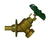 """72014P-12 1/2"""" NO LEAD BRASS PEX ANGLE SILLCOCK AYMCD PLUMBING 5420-460 (REPLACED BY 72014PWF-12)"""