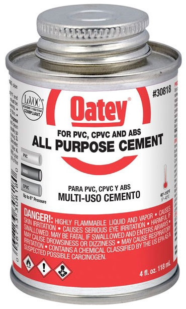 1/4 PINT ALL PURPOSE CEMENT CLEAR