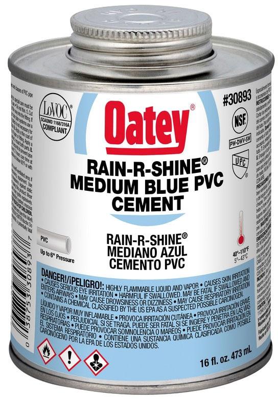 1 PINT PVC RAIN R SHINE WET SET CEMENT