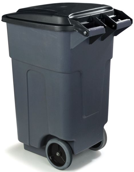 50 Gal Rolling Waste Receptacle