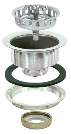 Spin & Seal Basket Strainer Assembly