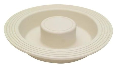 Garbage Disposal Stopper - Rubber, White