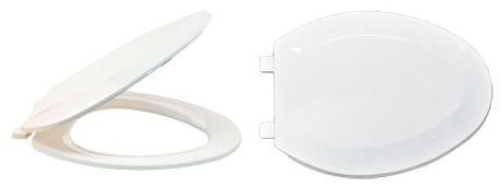 Plastic Elongated Toilet Seat