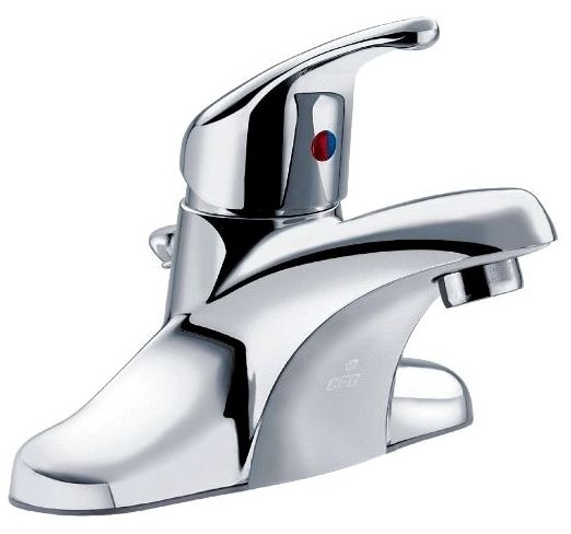 Lavatory Faucet Single Lever with 50/50 Pop-Up Chrome