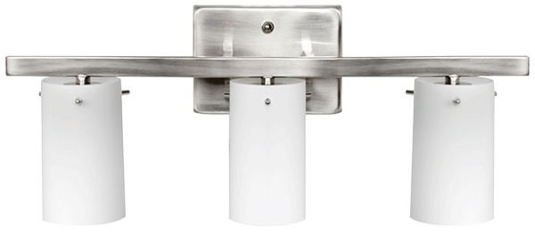 3-Light Vanity Fixture Satin Nickel