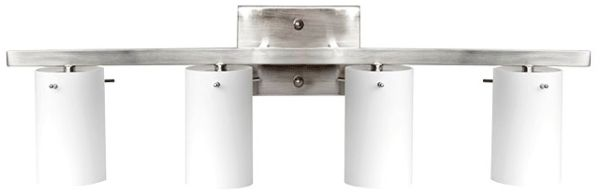 4-Light Vanity Fixture Satin Nickel