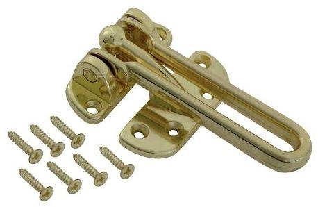 Security Door Guard Antique Brass
