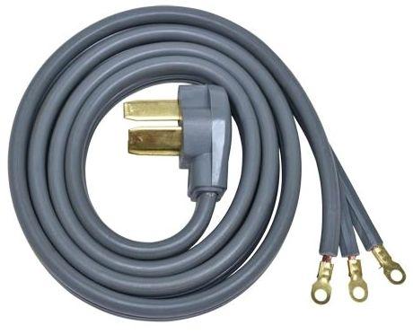 3-Prong Range Cord 6'