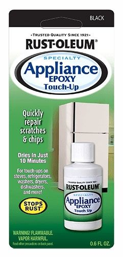 Appliance Touch Up Paint Black