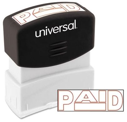 """""""Paid"""" Stamp"""