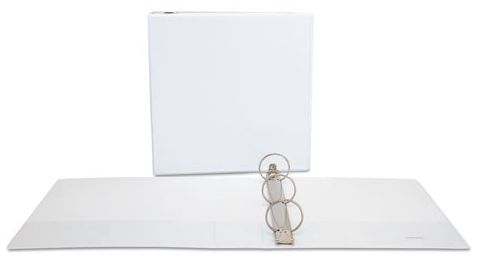 "2"" 3-Ring Binder White"