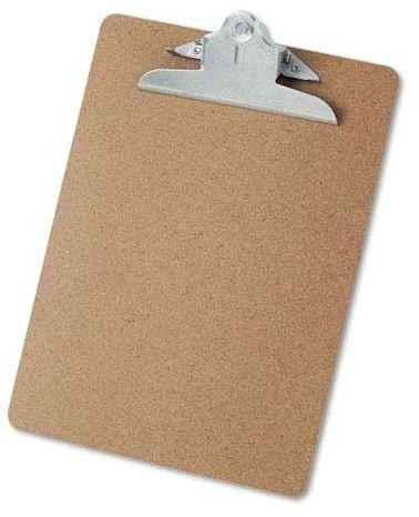 Hardboard Clipboard