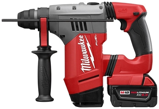 MIL 2715-22DE M18 FUEL 1-1/8in SDS Plus Rotary Hammer W/ DE Kit