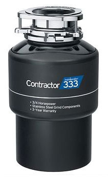 CNTR333 ISE 3/4HP 120V CONTRACTOR 333 CONT FEED DISPOSER
