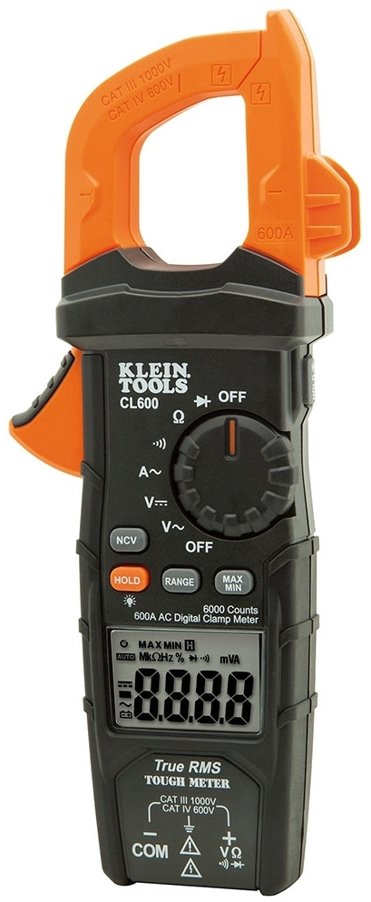 kln CL600 KLN Digital Clamp Meter AC Auto 600A