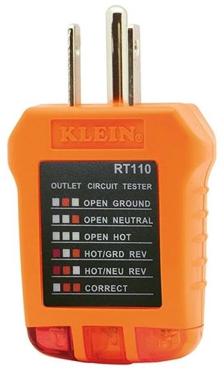 KLEIN RT110 RECEPTACLE TESTER