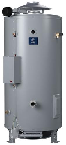 SBD-100-199NE (DISCONTINUED) 100 GAL NAT GAS 199,000 BTU SANDBLASTER COMM WTR HTR STATE