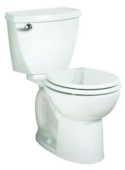 Elongated Toilet Bowl - CADET, White, 1.07 Gpf/4.8 Lpf