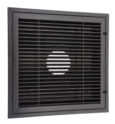 HaVACo HT-2X2-RTN-BK 2'x2' Plastic Louver Return Lay-In