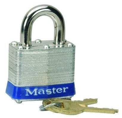 Master Padlock Keyed Alike #0356