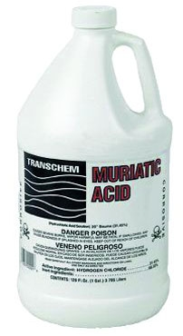 Muriatic Acid 1 gal (PK 4gl)