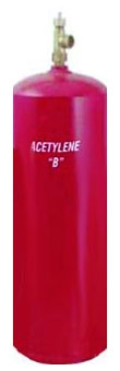 Acetylene B Tank Only (Refill Purchase Required)