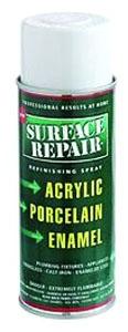12oz Porcelain - Fiberglass Spray Paint Plumbing Wht