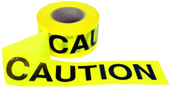 "Caution Tape 3"" x 1000'"