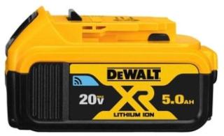 dwt DCB205BT DEWALT 20V MAX 5.0AH BLUETOOTH BATTERY