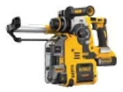 DWT DCH273P2DHO DWT20V MAX SDS 3MODE 1IN ROTARY HAMMER KIT